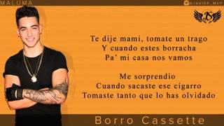 Maluma Borro cassette