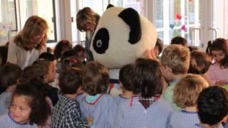 O Panda Veio à Escola