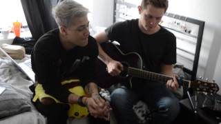 Billy Goulden ft. Mickey Taylor- Pretty Hurts (Rough Live Acoustic Session)