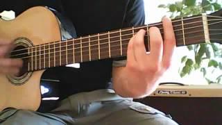 Manu Chao Clandestino guitar lesson + tab