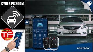 Novo alarme com controle pelo celular  Cyber PX 360BT da Pósitron
