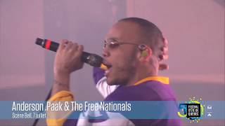 Anderson.Paak & The Free Nationals live - FEQ 2017
