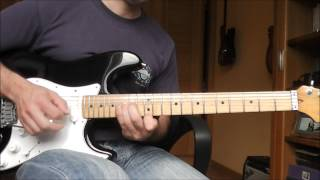 Comfortably Numb - Pink Floyd - Guitar solo cover