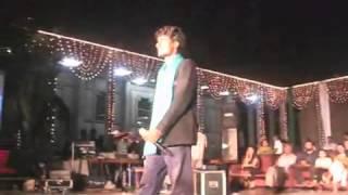Song Jab Samjhane se Na Mana Song By Zain at KFT's Inaugutral Ceremony