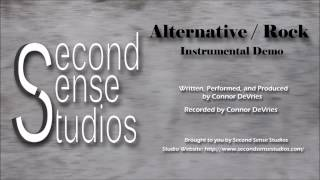 Alternative Rock Instrumental Demo - Second Sense Studios Production