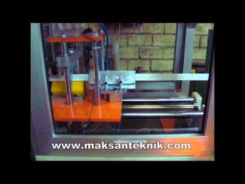 Kağıt Köşebent Makinası Maksan Teknik Adana