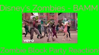 Disney's Zombies - BAMM - Zombies Block Party Reaction!