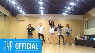 "Wonder Girls ""Like this"" Dance Practice"