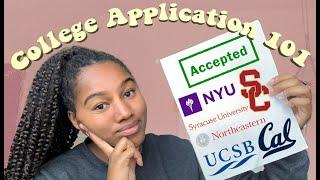 i got into my dream schools (application advice + my stats)