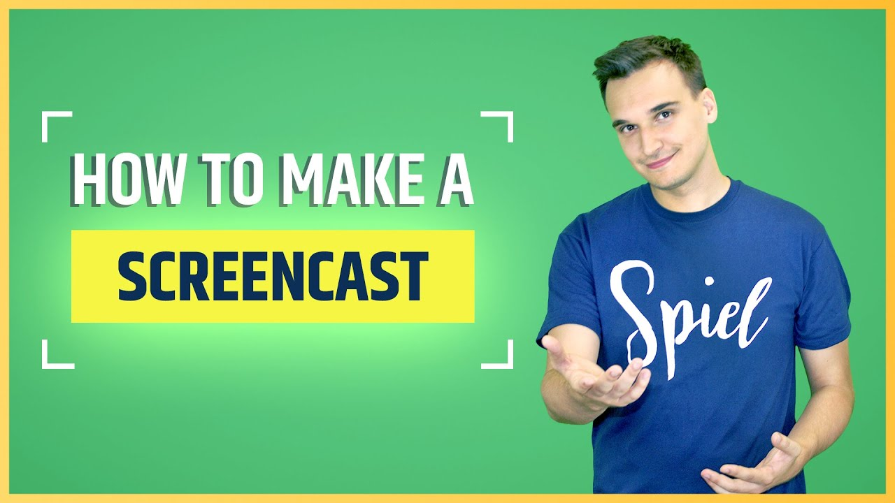 How to Create a Screencast Video (4 Easy Steps)