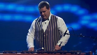 Ashley Elliott xylophone - Britain's Got Talent 2012 Live Semi Final - UK version