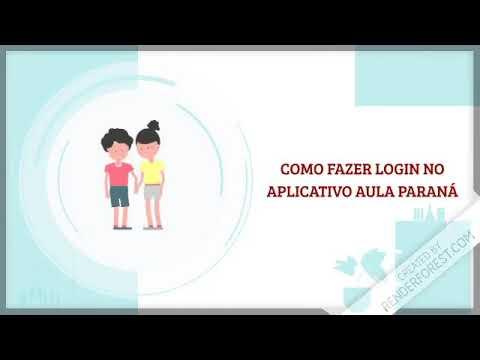 Tutorial em vídeo sobre as aulas EaD para os alunos das escolas estaduais do Paraná - Cidade Portal