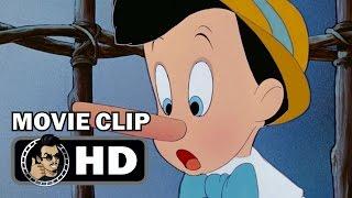 PINOCCHIO Movie Clip - Pinocchio's Lies (1940) Classic Disney Animation HD