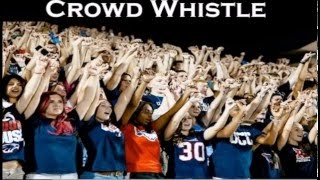 Crowd Whistle Sound Effect BASS BOOSTED | High Quality Audio