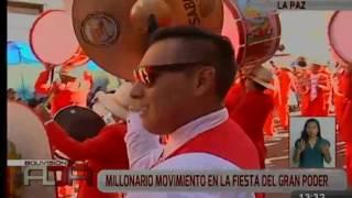 Millonario movimiento en la 'Fiesta del Gran Poder'