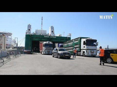 Video : Tanger-Med et la Fondation Mohammed V pour la solidarité mobilisés pour l'accueil des MRE