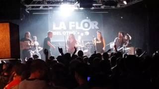 """La flor del Otro """"No darás nunca la talla"""" (live) 2017"""