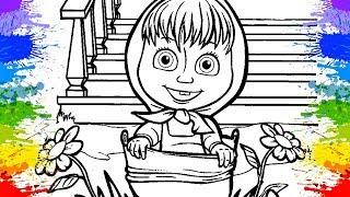 Desenho da Masha eo Urso em Portugues Séries educativas Desenhos Animados Masha e o Urso Educational