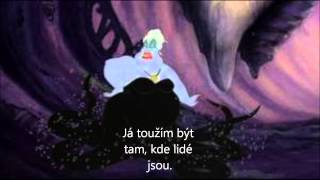 mořská čarodějnice se zamilovala do prince od ariel :)