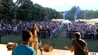 EL NEGRO | Lasa-ma & Stand By (Live @ Free Fest 2011)