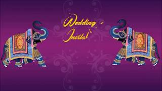 Premium Wedding Invitation Video Hindi Text Version | Post Guruji | Product Code : PG0012