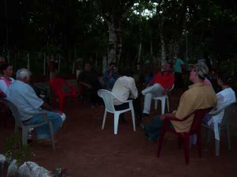 MIN EV MISION PABLO EVANGELIZA EN LAUREL NICARAGUA