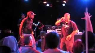 """King Fantastic ft Anacron """"D-Boy Stance"""" LIVE at The Roxy Theater"""