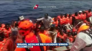 Refugiados sírios encontram no Brasil oportunidade para recomeçar