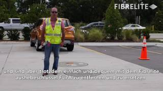 Composite Access Covers Tested Under 32,500 lb RV: Fibrelite & Competitor - German Subtitles