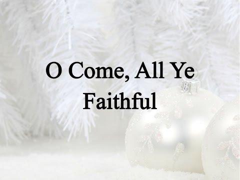 O Come All Ye Faithful Hymn Charts With Lyrics Contemporary