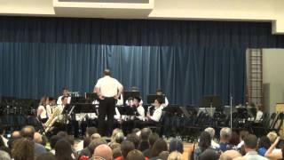 Earl Warren JHS Jazz Band 2012 Spring Concert Part 2