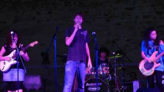CROSSROAD MUSIC LAB LIVE - MY FIRST MY LAST MY EVERYTHING - BARRY WHITE - PIOMBINO 1-7-2013