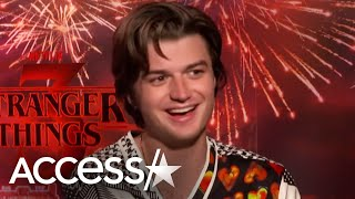 Joe Keery Got Kicked Out Of 'Stranger Things' Kids Group Chat