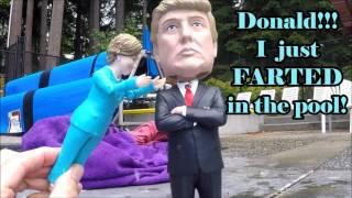 Hillary Clinton FARTS!!! Underwater