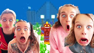 WHICH KID BUILDS BEST UNDERWATER HOUSE IN MINECRAFT *judging*  Gaming w/ The Norris Nuts