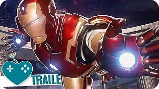 MARVEL VS. CAPCOM INFINITE Gameplay Trailer (2017) PS4 Game
