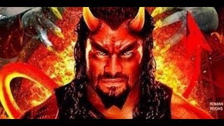 Roman Reigns is portrayed as the Devil in the official WWE Hell in a Cell poster