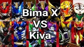 Satria Naga Bima X VS Kamen Rider Kiva width=