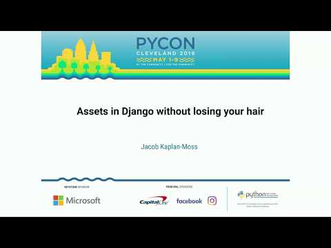 Assets in Django without losing your hair