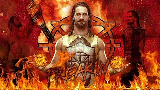 Second Coming With REDESIGN REBUILD RECLAIM Lyrics||BURN IT DOWN||SETH ROLLINS||CUSTOM THEME