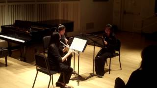 """Aubade"" for Woodwind Trio by Paul de Wailly"