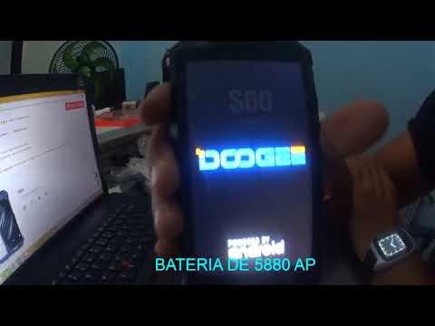 IP68 Original DOOGEE S60 12V2A Carga Sem Fio do Smartphone 5580 mah