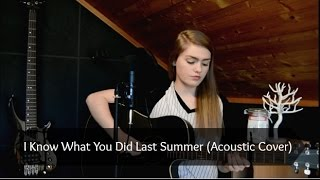 Shawn Mendes & Camila Cabello - I Know What You Did Last Summer  (Acoustic Cover)