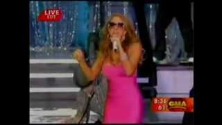 Mariah Carey's embarrassing live performance of Touch My Body