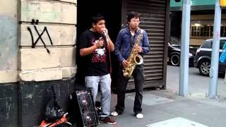 beatbox y saxofón