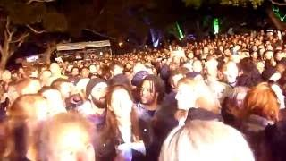 Fat Freddy's Drop in Cape Town - #4 of 4 - Joe Dukie pulling the crowd into this room