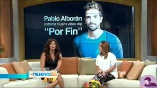 Pablo Alborán presenta «Por Fin» en exclusiva para USA