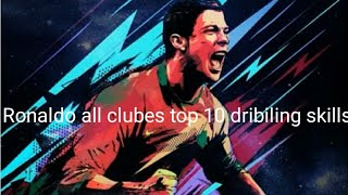 Cristiano Ronaldo best skills juventus Manchester united real Madrid all clubes magic skills