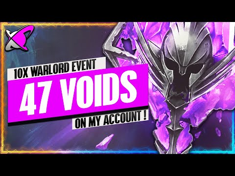 GAME CHANGER PULLED ON MY ACCOUNT.. AGAIN! | 47X Void Shards Warlord Event ! | RAID: Shadow Legends