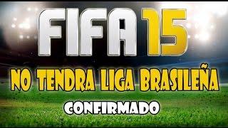 FIFA15 no tendrá Liga Brasileña